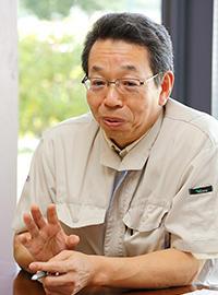 取締役 製造本部 副本部長 加野敏明氏