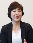 アンリツ株式会社 経営情報システム部 BPR推進チーム 部長 中島 久美子 氏