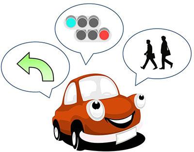 自動運転に必要な情報